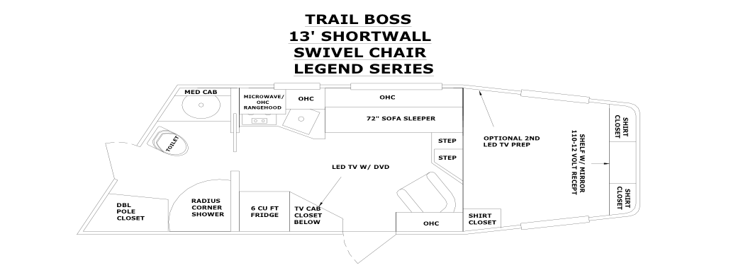 Legend series floor plans trail boss conversions page 3 for 13 floor myth